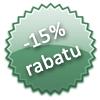 -15% rabatu