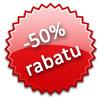 -50% rabatu